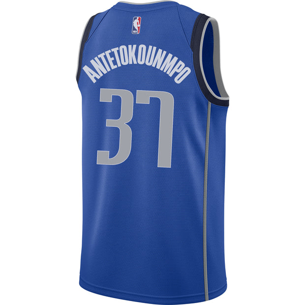 DALLAS MAVERICKS KOSTAS ANTETOKOUNMPO NIKE ICON SWINGMAN JERSEY