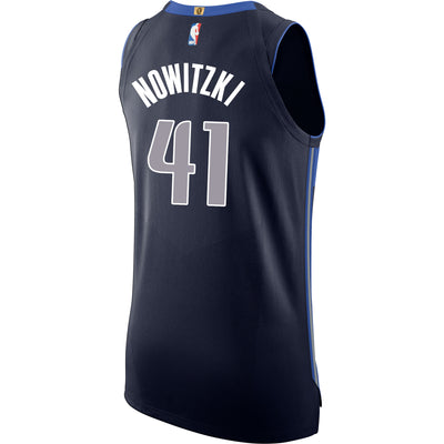 DALLAS MAVERICKS DIRK NOWITZKI NIKE STATEMENT AUTHENTIC JERSEY