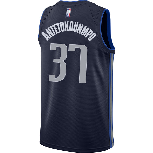 DALLAS MAVERICKS KOSTAS ANTETOKOUNMPO NIKE STATEMENT SWINGMAN JERSEY