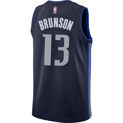DALLAS MAVERICKS JALEN BRUNSON NIKE STATEMENT SWINGMAN JERSEY