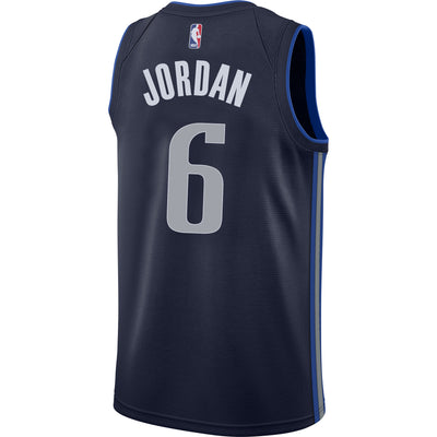 DALLAS MAVERICKS DeANDRE JORDAN NIKE STATEMENT SWINGMAN JERSEY
