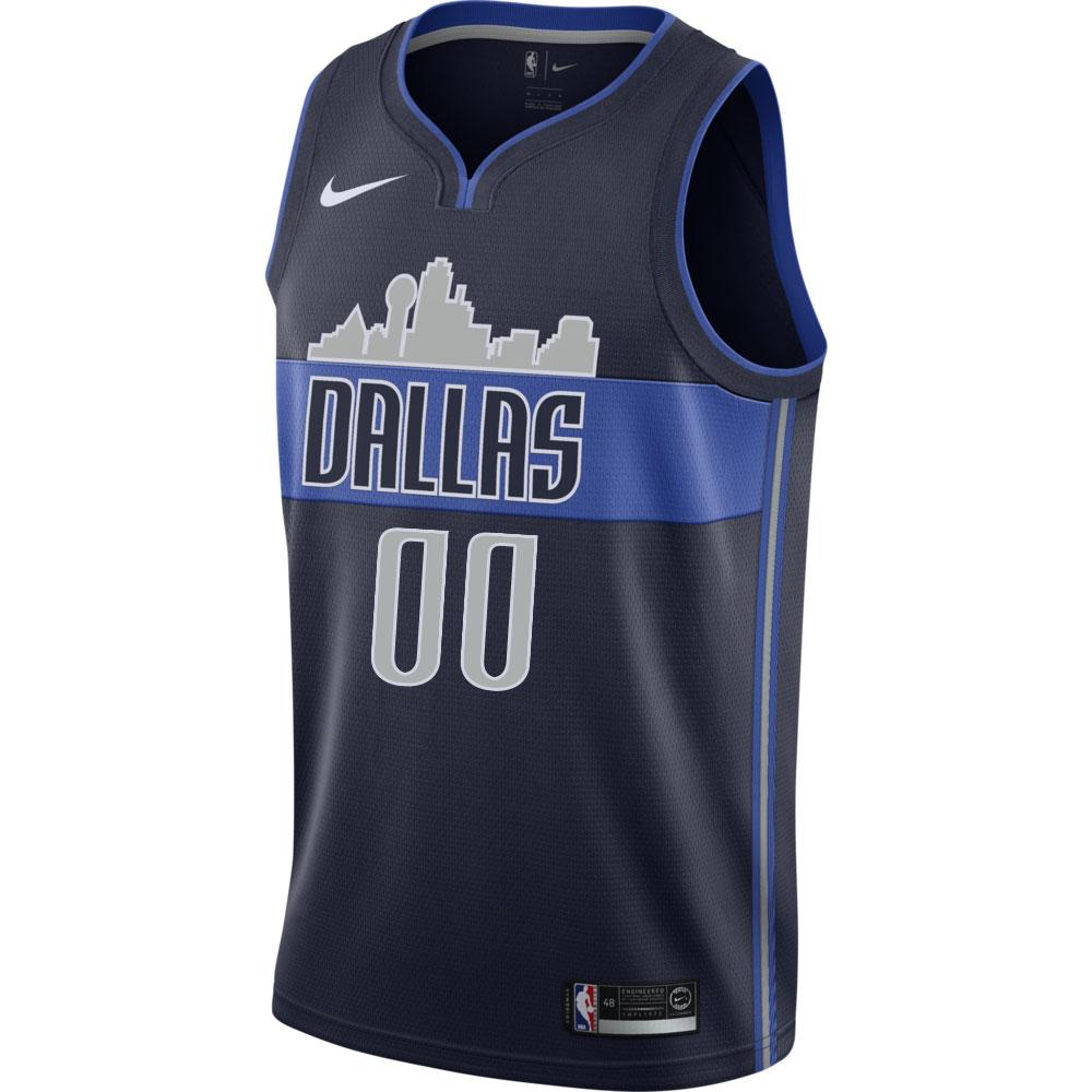 DALLAS MAVERICKS CUSTOM NIKE STATEMENT SWINGMAN JERSEY