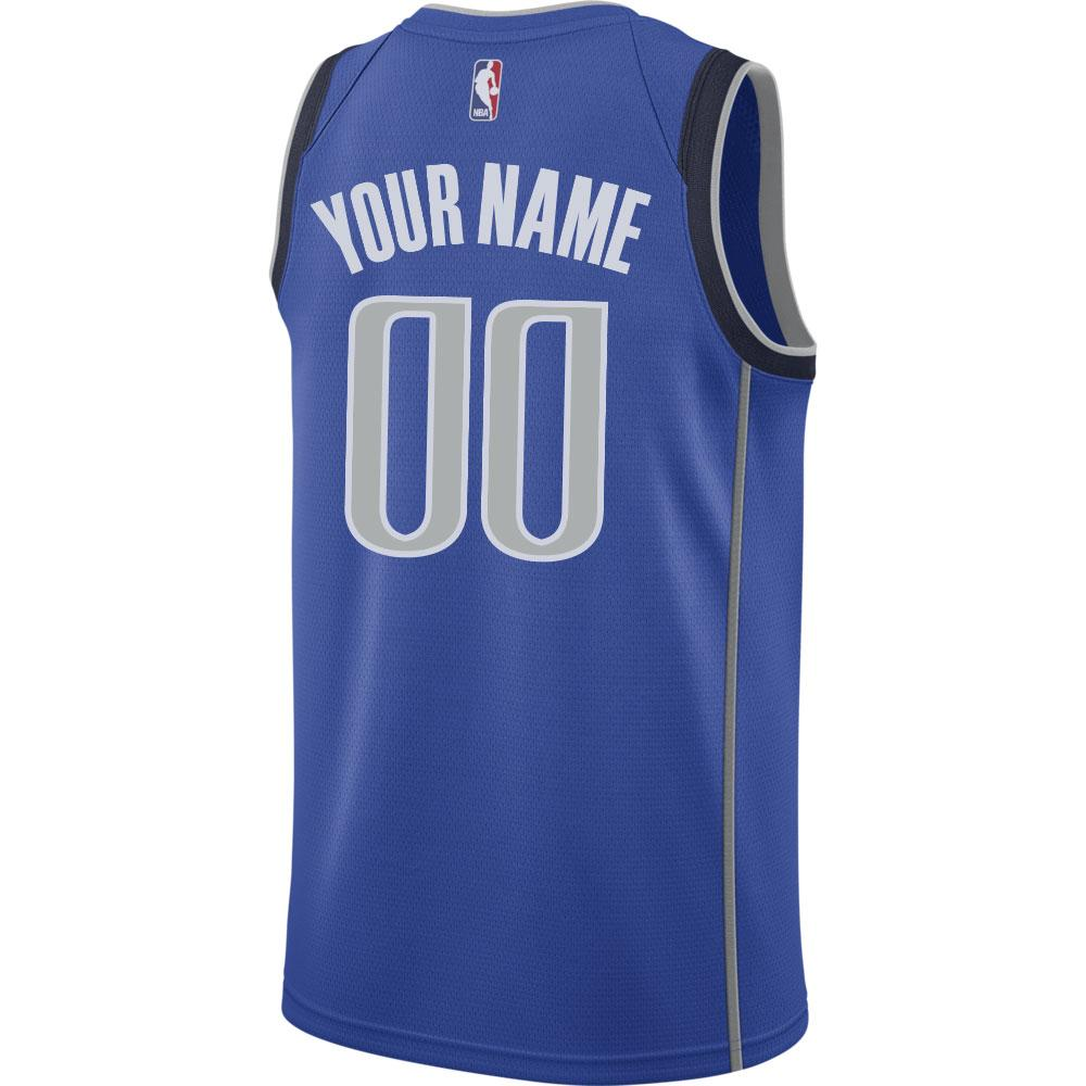 DALLAS MAVERICKS CUSTOM NIKE ICON SWINGMAN JERSEY