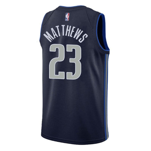 DALLAS MAVERICKS WESLEY MATTHEWS NIKE STATEMENT SWINGMAN JERSEY
