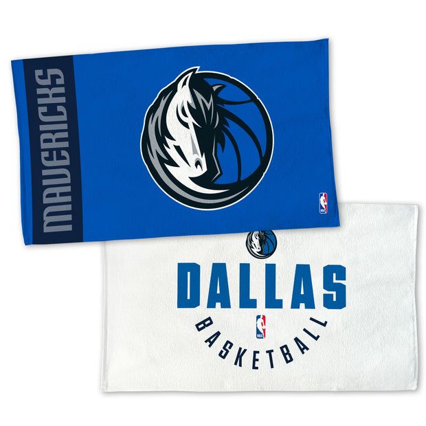 DALLAS MAVERICKS ON COURT TOWEL 22X42