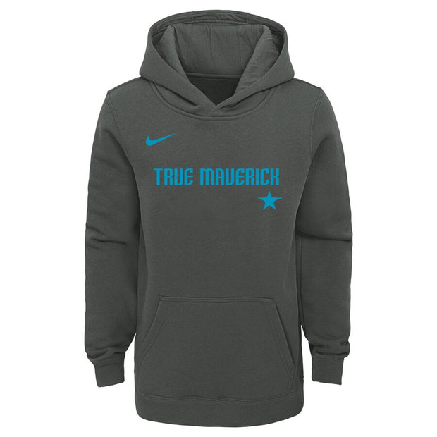 DALLAS MAVERICKS YOUTH CITY EDITION TRUE MAV HOODY