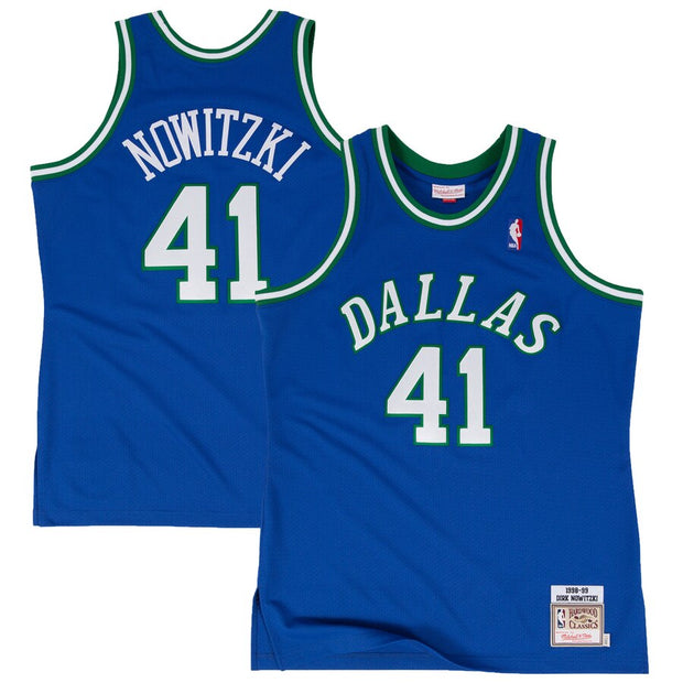 DALLAS MAVERICKS YOUTH HARDWOOD CLASSIC DIRK SWINGMAN JERSEY
