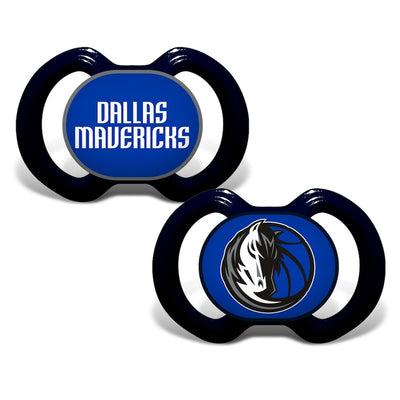 DALLAS MAVERICKS 2 PACK PACIFIERS