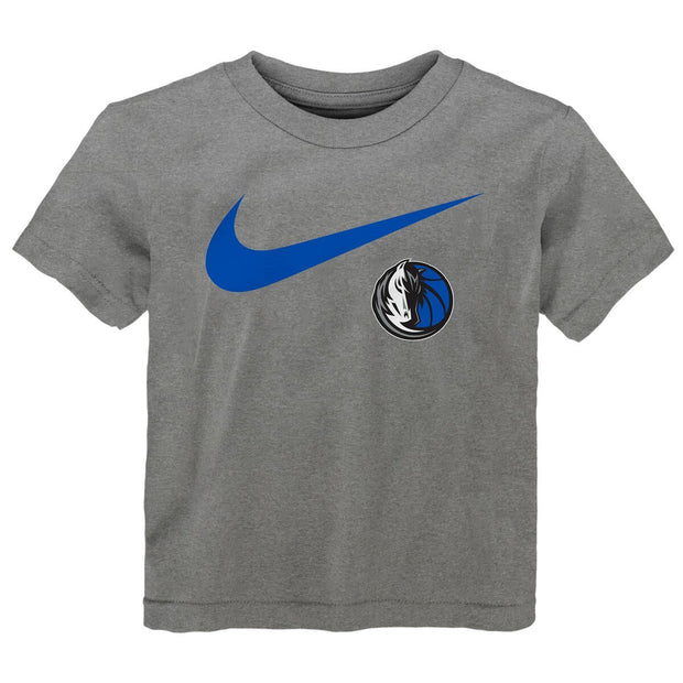 DALLAS MAVERICKS KIDS SWOOSH LOGO TEE