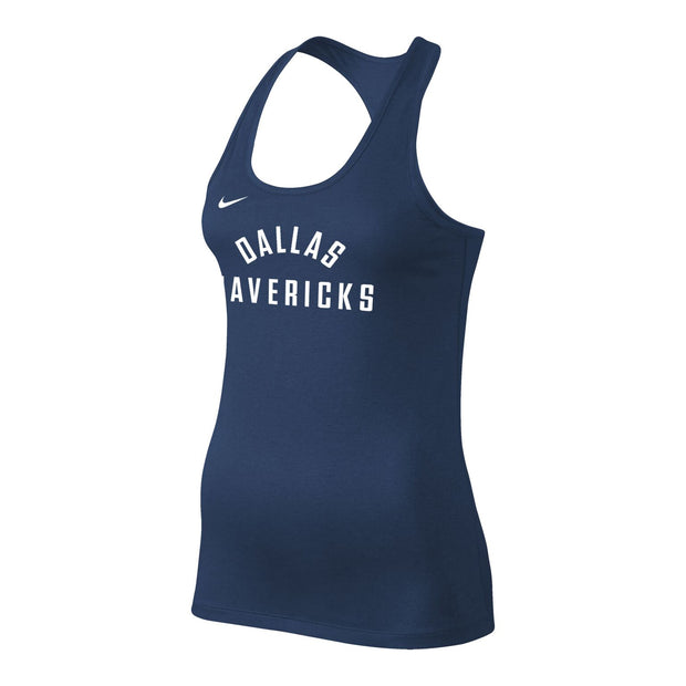 DALLAS MAVERICKS 2018 NIKE WOMENS LEGEND BALANCE TANK