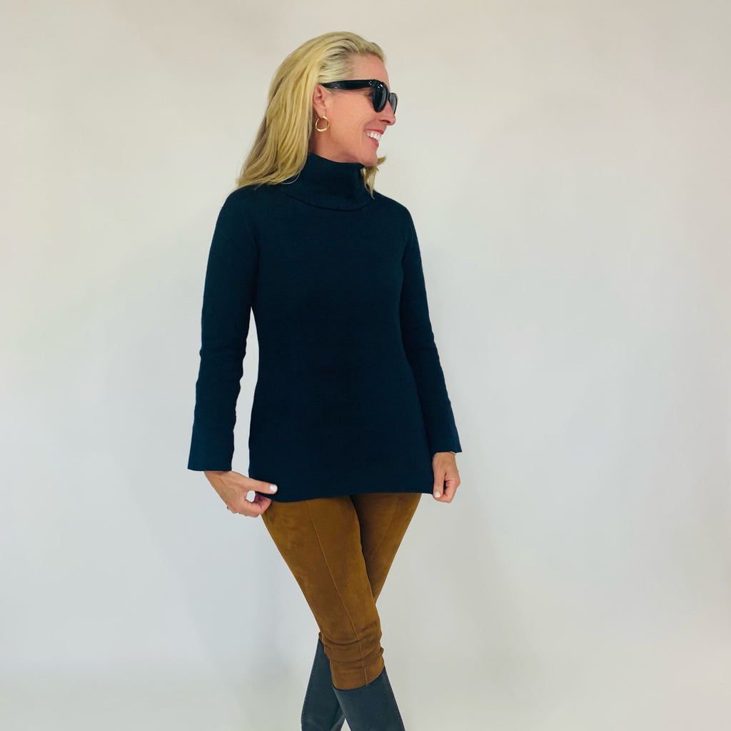 The Lauren Tunic- Neat Navy