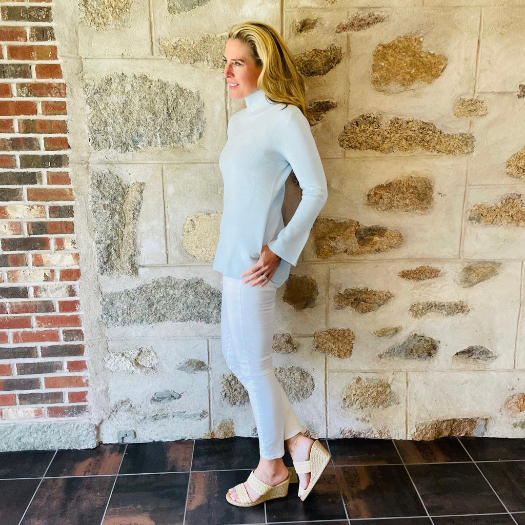 The Lauren Tunic- Frost Blue