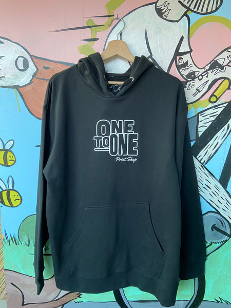 One To One Logo Hoodie
