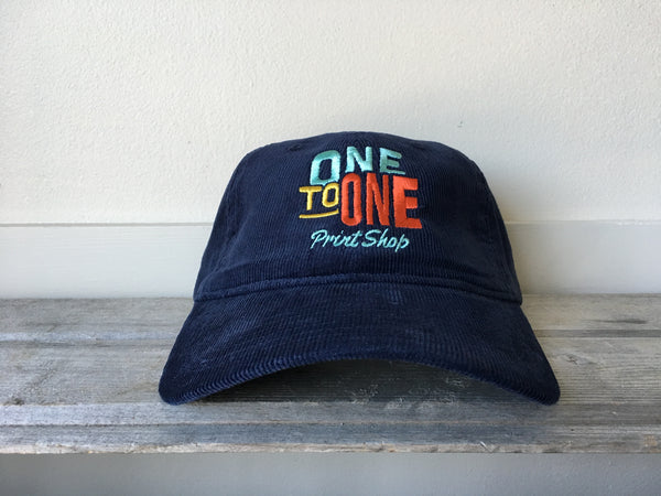 One To One Corduroy Dad Hat