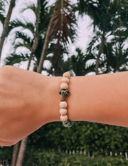 palm tree bracelet l save the whales