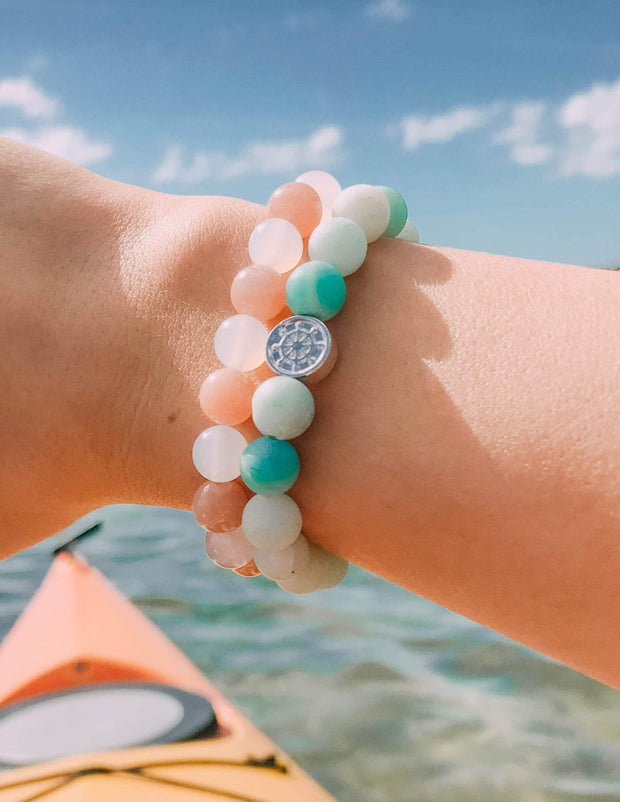 Lost at Sea sailor bracelet l save the whales