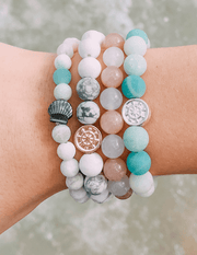 Seashell bracelet l save the whales