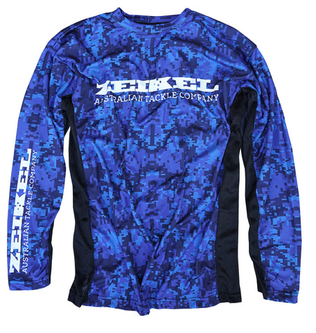 Coastal Camo  -  Zeikel Fishing Shirt