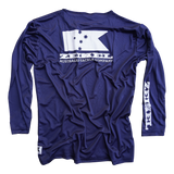 Zeikel Fishing Jersey - Navy blue
