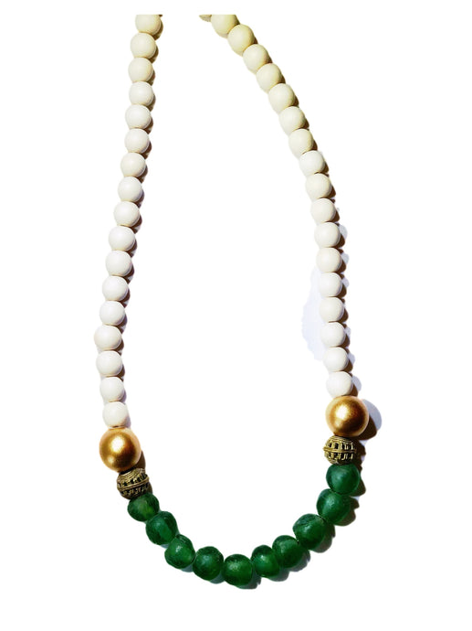 Green Glass Necklace