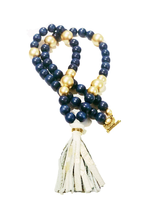 Game Day Navy Necklace