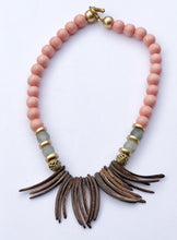 Load image into Gallery viewer, Coral Sea Grass Necklace