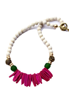 Child Fringe Bead Necklace