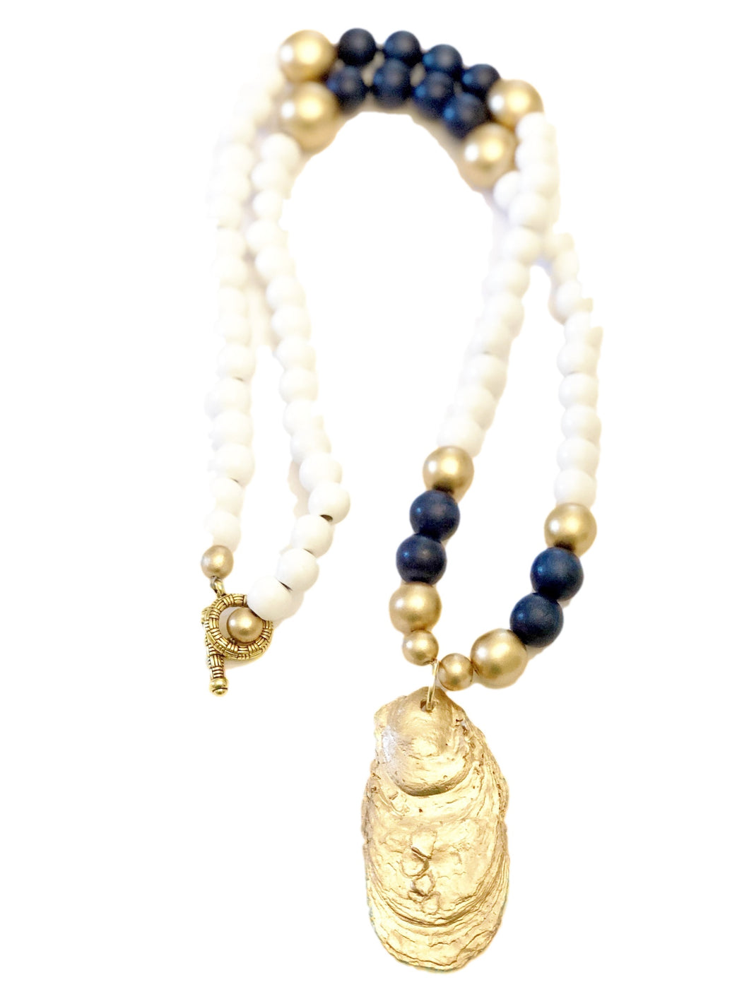 Savannah Summer Oyster Necklace