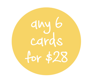 Any 6 cards for $28