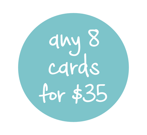 Any 8 cards for $35