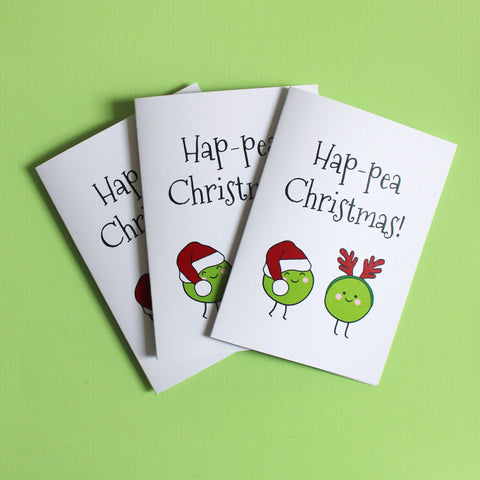 Hap-pea Christmas Pack of 3
