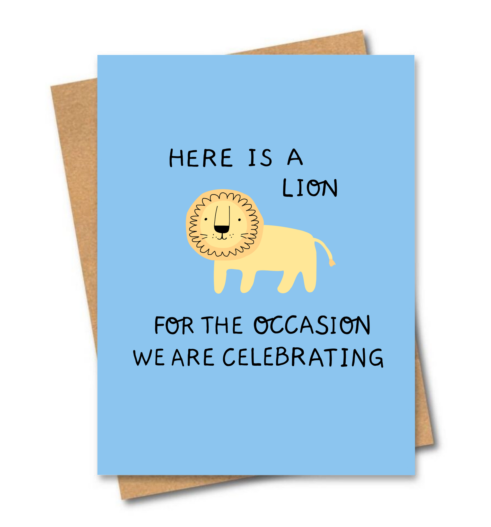 Here is a Lion