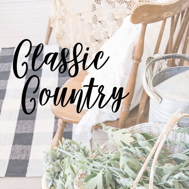 Classic Country, Country Home Decor, Red, Green, Yellow, Home Decor, Southern Style, JaBella Designs, Boutique Decor, Fixer Upper Style, Vintage Inspired Decor, Online Home Decor Store