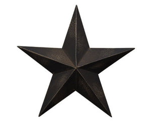 Black Barn Star, Antique Black, Aged Black, Barn Star, Country Star, Wall Hanging, Rustic, Farmhouse, Wall Plaque, JaBella Designs, Fixer Upper Style, Country Door