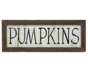 Pumpkins sign, Pumpkin wall plaque, Autumn decorations, Fall pumpkin decor, Fall fireplace, Rustic farmhouse, Brown, Neutral holiday decor, Thanksgiving, JaBella Designs