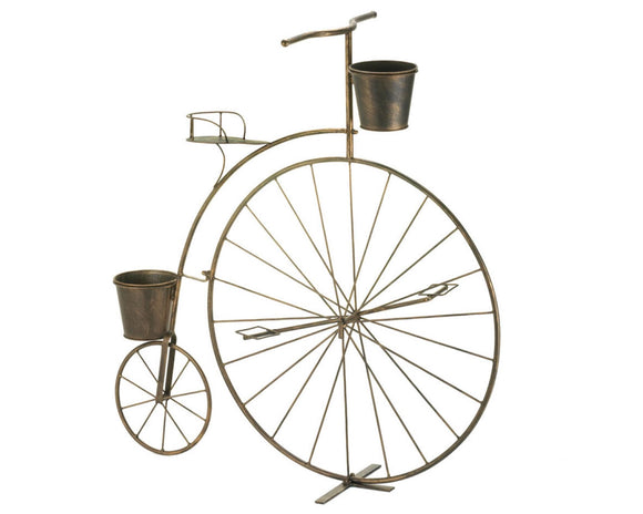 Bicycle plant stand, Old fashioned bicycle planters, Bicycle garden decor, Patio decorations, Spring decor, Summer decor, Country farmhouse home decor, JaBella Designs