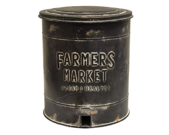 Farmhouse trash can, Waste basket, Decorative trash bin, Farmers Market, Fixer Upper style, JaBella Designs, Murfreesboro