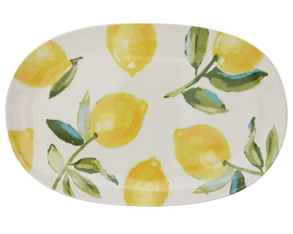 Lemons, Lemon, Tray, Platter, Serving Tray, Serveware, Dining, Entertaining, Country, Farmhouse, JaBella Designs
