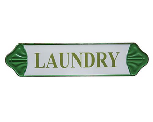 Laundry, Sign, Green, White, Country, Traditional, Southern, Farmhouse, JaBella Designs, Home Decor
