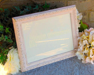 Pink, Gold, 8x10 Picture Frames, Photo Frames, Collage Frames, Wood Frames, Shabby Chic, Home Decor, Nursery Decor, JaBella Designs, Etsy, Handmade