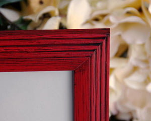 Red picture frames, Barn red 8x10 photo frames, Wood wall frames, Wall gallery frames, Country living, Southern style decor, JaBella Designs, Murfreesboro