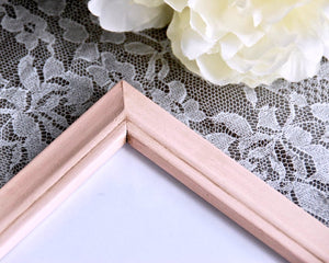 Blush pink picture frame, Wood 4x6 photo frame, Nursery shelf decor, Shabby cottage chic home decor, JaBella Designs, Etsy, Murfreesboro