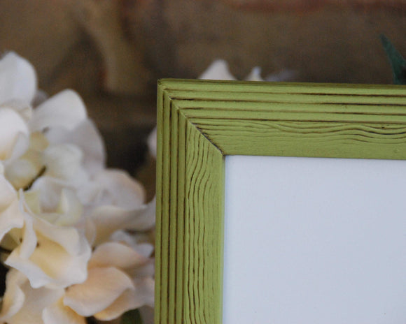 Apple green picture frame, 11x14 wood frames, Country green photo frames, Wall gallery frames, Country home decor, Nursery room wall decor, Kids playroom gallery wall, JaBella Designs