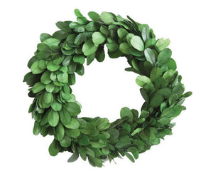 Boxwood wreath, Small green wreaths, Round real boxwood wreath, Farmhouse wreaths, Country home decor, JaBella Designs