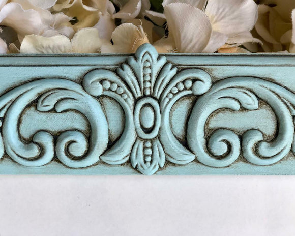 Robin's Egg Blue, Ornate, 8x10 Frames, Picture Frame, Wood, Photo Frames, Embellished, Hand-Painted, Cottage Chic, Shabby Chic, Farmhouse Chic, French Country, Gallery Frames, Bedroom Decor, JaBella Designs, Etsy, Handmade