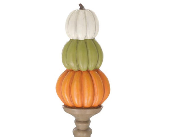 Pumpkins, Stacked Pumpkin Sculpture, Entryway Decor, Autumn, Fall, Happy Harvest, Pumpkin Spice, Holiday Decor, JaBella Designs, Home Decor