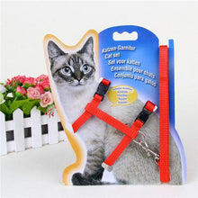 Load image into Gallery viewer, 1Pc Adjustable Nylon Rope Pet Dog Puppy Cat Lead Leash Harness Walking Chest Strap Pet Lead Leash Pet Supplies