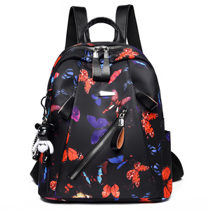 Fancy  waterproof  Lady's school backpack