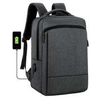 Load image into Gallery viewer, Stylish High Quality with USB Port for  Business Travel or School expandable backpack with Laptop Compartment