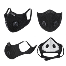Load image into Gallery viewer, Sport Face Mask With Filter KN95 Activated Carbon PM 2.5 Anti-Pollution Running, Training  Mask